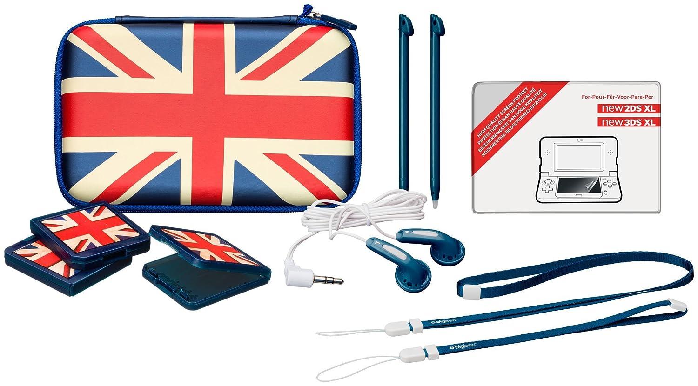 Nintendo チープ New セールSALE%OFF 2DS XL - Pack UK-Design Essential Starter