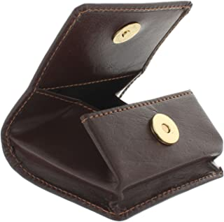 Portamonete in Pelle Mala Collezione ODYSSEY 4114/_14m Marrone