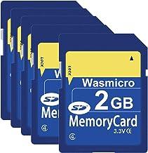 5 Pack SD Card 2GB Class 4 SD Flash Memory Cards 2G SLC...