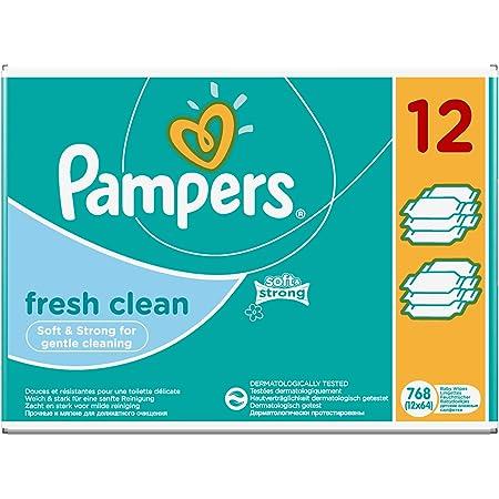 15 x 80 Stück Pampers Fresh Clean Feuchttücher 15 Packungen