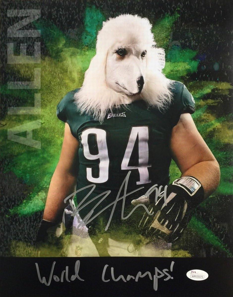 Beau Allen Finally resale 2021 start Super Bowl LII 52 Siged Phot Eagles Autographed 11x14