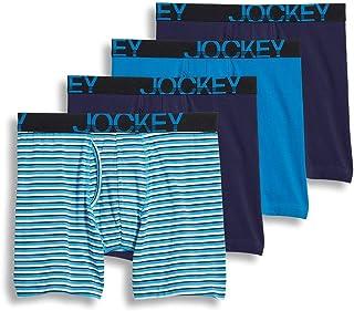 Jockey Men's Underwear ActiveStretch Midway Brief - 3 Pack 1 Bonus