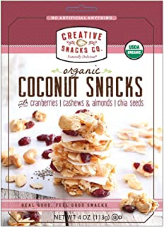 Creative Snack Coconut Cranberry Nut Snack, 4 oz