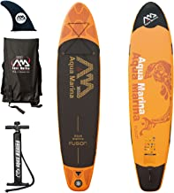 Best aqua marina fusion inflatable stand-up paddle board Reviews