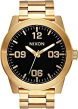 Best nixon corporal black and gold Reviews