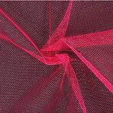 Fabulous Fabrics Tüll hot pink, Uni, 150cm breit – zum