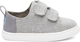 TOMS Kids Unisex Lenny (Infant/Toddler/Little Kid) Drizzle Grey Slub Chambray 6 Toddler M M