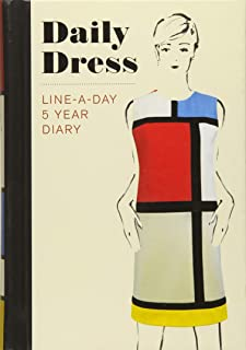 Daily Dress (Guided Journal): A Line-A-Day 5 Year Diary