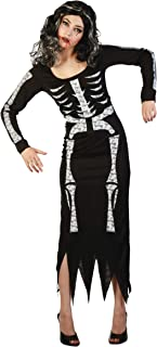 Generique - Disfraz de Esqueleto para Mujer S/M