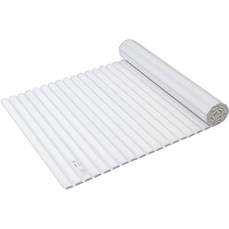 パール金属 風呂ふた ホワイト 80×142.5cm シャッター式 スタイルピュア W14 HB-4390