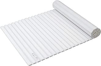 パール金属 風呂ふた ホワイト 70×142.5cm シャッター式 スタイルピュア M14 HB-4385