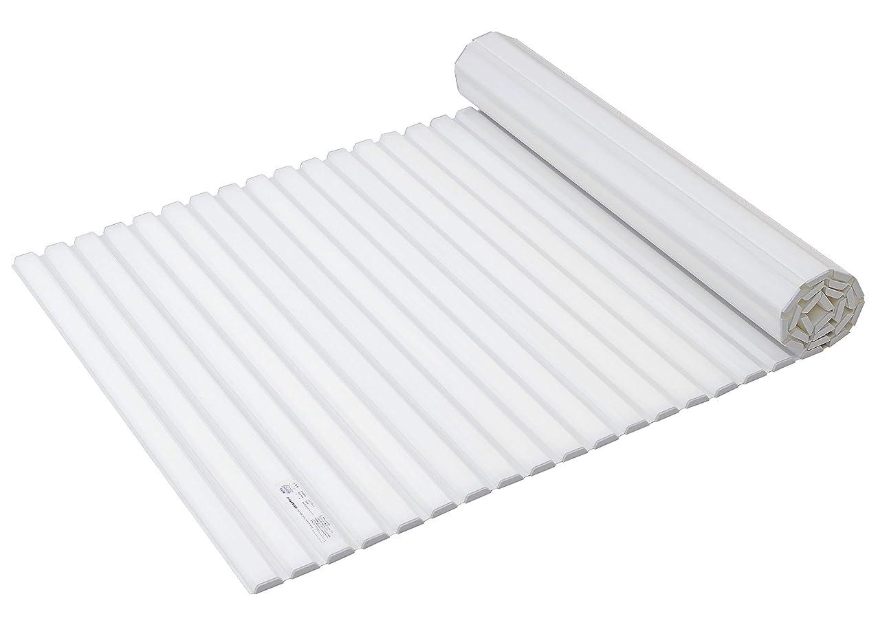 ガロンパールが欲しいパール金属 風呂ふた ホワイト 80×142.5cm シャッター式 スタイルピュア W14 HB-4390