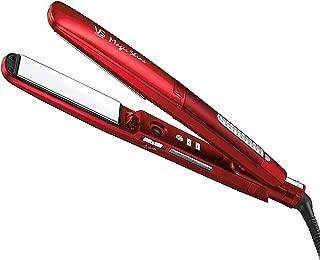 ヴィダル サスーン ストレートアイロン マジック シャイン スチーム&マイナスイオン 海外対応 4段階温度調節 レッド VSS-9500/RJ