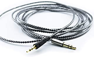 NewFantasia Replacement Cable for Bowers & Wilkins P5 / P5 S2 Wireless/Recertified Headphone Silver Plated Copper Audio Upgrade Cord 1.2m/4ft