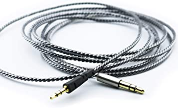NewFantasia Replacement Cable for Bowers & Wilkins P5 / P5 S2 Wireless/Recertified Headphone Silver Plated Copper Audio Up...