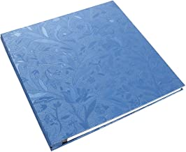 Lanpn Photo Album 4x6 500 Photos, Extra Large Capacity Wedding Family Photo Picutre Albums Holds 500 Pockets Horizontal and Vertical 4 by 6 Pictures with Black Pages Blue