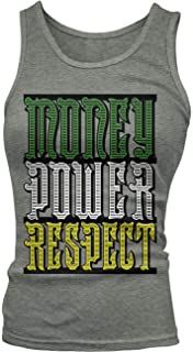 Junior's Money Power Respect Tank Top