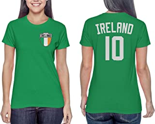 HAASE UNLIMITED Ireland Futbol Jersey - Irish Ladies T-Shirt