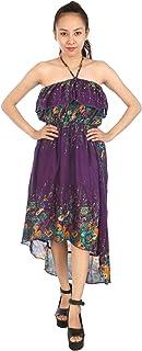 Lofbaz maxiklänning dam bohoklänning sommarklänning harem maxi boho klänning strandklänning