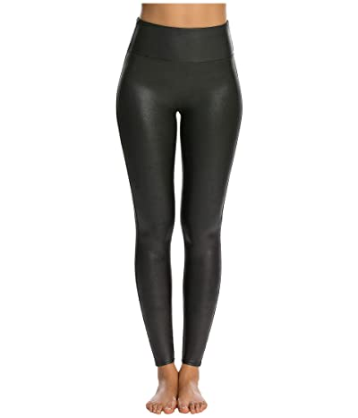 Spanx Faux Leather Leggings (Black) Women