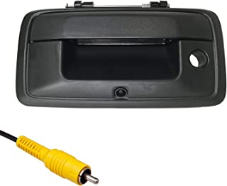Master Tailgaters Replacement for Chevrolet Silverado and GMC Sierra 2014-2015 Black Tailgate Backup Reverse Handle with Camera