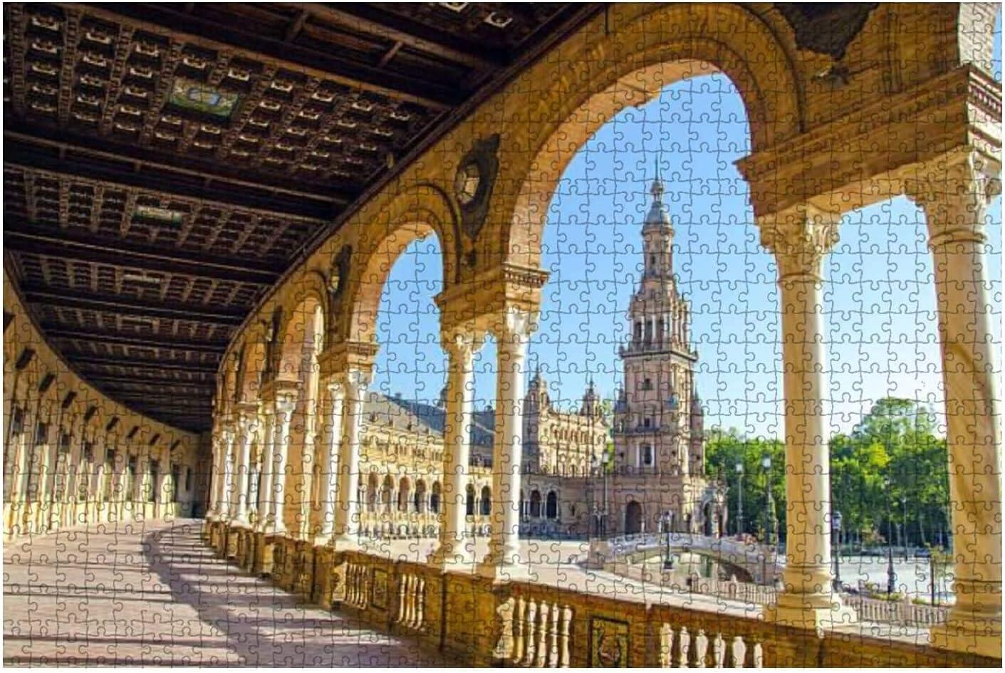 1000 Pieces-kaleidoscopic San Diego Mall Oil Painted Kaleidosco Leaf Max 73% OFF Background