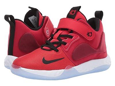 Nike Kids KD Trey 5 VII (Little Kid) (University Red/Black/White) Kids Shoes
