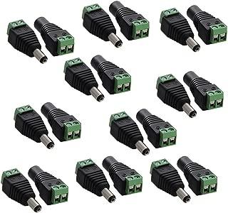 Generic-Cable divisor de alimentaci/ón CC 1 a 4 canales para registradores 9 Sistema de c/ámaras de 12//v
