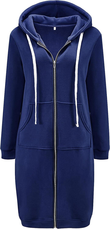 DUOYANGJIASHA Women's Long Hoodies Tunic Winter Fleece Free shipping Cheap mail order sales Jackets K