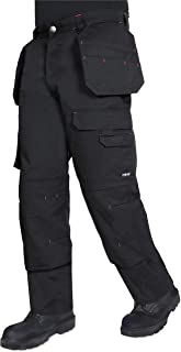 Endurance Multi Pocket Cargo Combat Tradesman Trouser with Knee Pad Pockets and Reinforced Seams