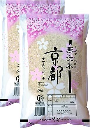 平成30年産 【無洗米】 京都府産 キヌヒカリ 10kg(5kg×2袋)