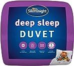 Silentnight Deep Sleep 10.5 Tog Duvet, Microfibre, White, Single