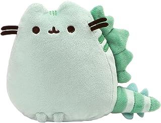 "GUND Pusheen Pusheenosaurus Dinosaur Cat Plush Stuffed Animal, Green, 6"""