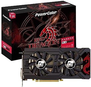 PowerColor AMD Radeon RX 570Red Dragon 8GB GDDR5DVI/HDMI/3x DP Tarjeta gráfica
