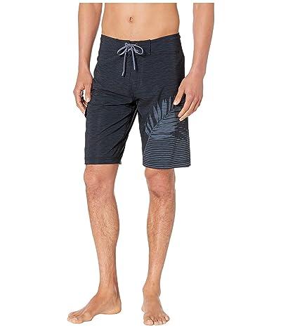 Speedo 21 Active Flex Boardshorts (Black/Grey) Men
