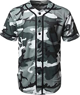 camo baseball jersey