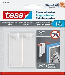 Tesa 77773-00001-00 Clavo Adhesivo Para Paredes Pintadas Y Yeso