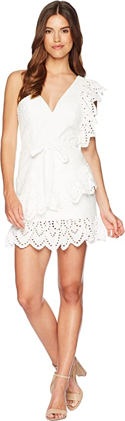 Frill Shoulder Dress