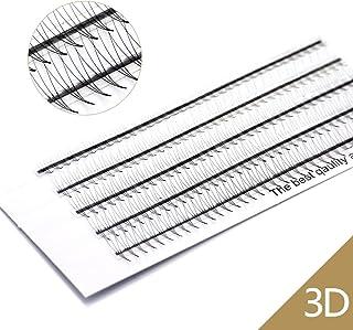 3D-volume wimpers C krul 0,07 mm gemengd 8-12 mm Russische cluster valse wimperextensions EMEDA 3D wimperverlengingen