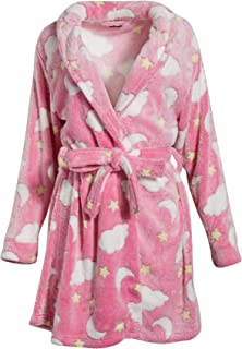 dELiAs Women's Ultra Soft Plush Robe
