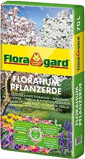Floragard Florahum Pflanzerde 70 L • Universalerde • für Blumenbeete, Stauden,..