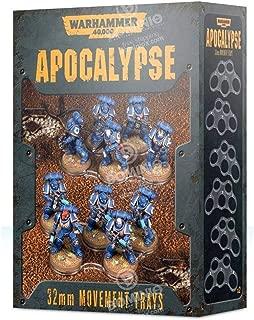 Warhammer 40K: Apocalypse Movement Trays (32mm)