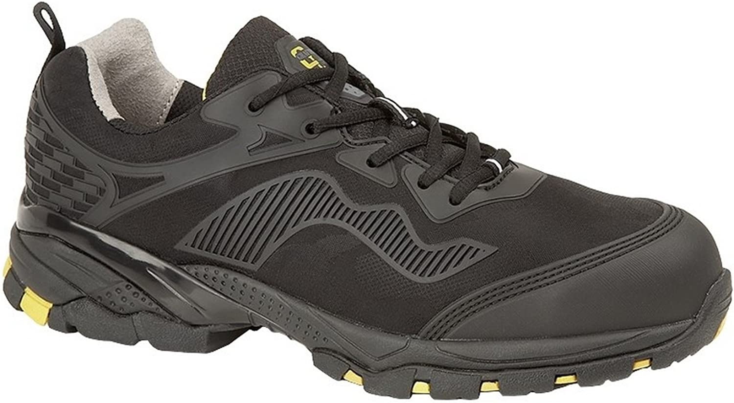Grafters M894A Mens Safety Trainers Black