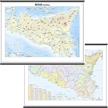 Cartina Geografica Sicilia Politica.Mashinopisec Naznachava Zagrizhen Cartina Geografica Della Sicilia Amazon Reliablewaterfiltration Com