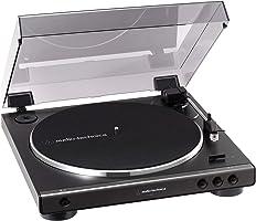 オーディオテクニカ フルオートレコードプレーヤー ダークガンメタリック AT-LP60X DGM