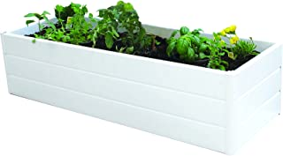 Best white resin planter boxes Reviews