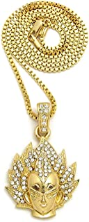 Best iced out vegeta pendant Reviews