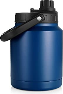 Sursip 64oz Vacuum Insulated Jug,Insulated Water Flask...