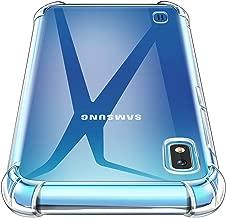 AROYI Cover Samsung Galaxy A10, Custodia Trasparente TPU Silicone Case Shock Absorption Corner Cushion Bumper Back per Samsung Galaxy A10