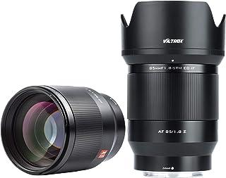 VILTROX 85 mm f1.8 Z autofokus, pełnoklatkowy obiektyw portretowy kompatybilny z aparatami Nikon Z Mount Z5 Z50 Z6 Z7 Z6 I...